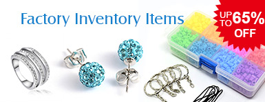 Factory Inventory Items UP TO 65% OFF