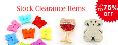 Stock Clearance Items UP TO 75% OFF