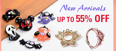 New Arrivals UP TO 55% OFF
