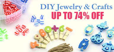 DIY Jewelry & Crafts UP TO 74% OFF