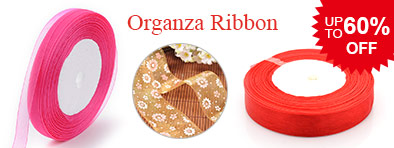 Organza Ribbon UP TO 60% OFF