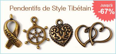 Pendentifs de Style Tibétain Jusqu'à 67% de Réduction