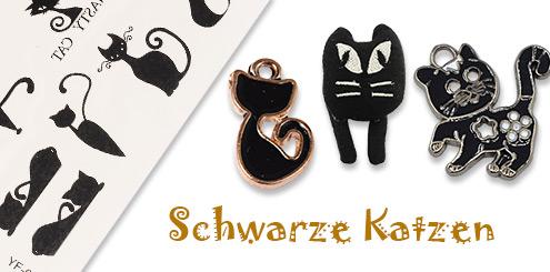 Schwarze Katzen