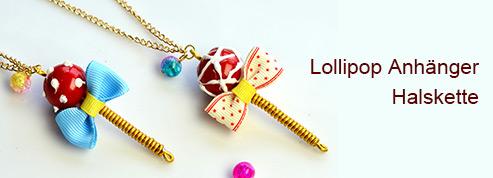 Lollipop Anhänger Halskette