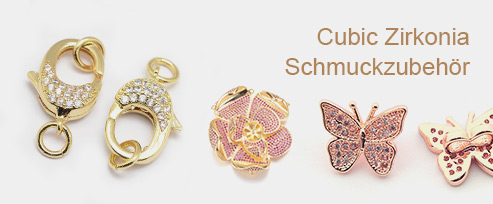 Cubic Zirkonia Schmuckzubehör