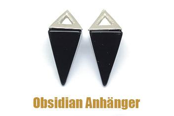 Obsidian Anhänger