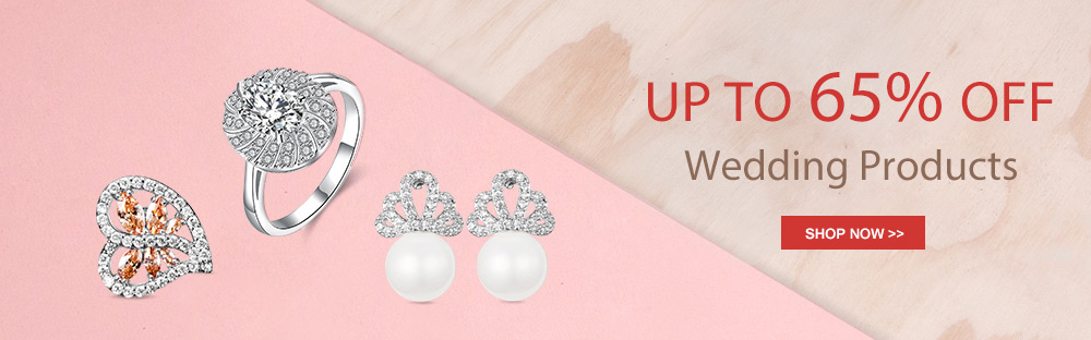 Up to 65% OFF Wedding Products