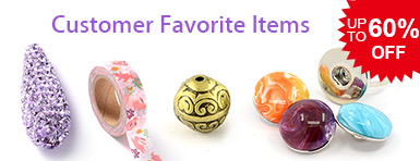 Customer Favorite Items UP TO 60% OFF