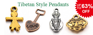 Tibetan Style Pendants UP TO 63% OFF