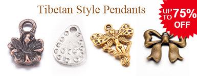 Tibetan Style Pendants UP TO 75% OFF