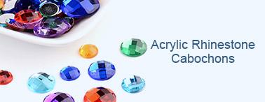 Acrylic Rhinestone Cabochons
