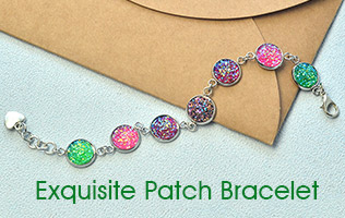 Exquisite Patch Bracelet