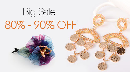 Big Sale 80% - 90% OFF