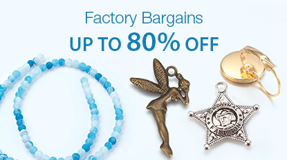 Factory Bargains Up To 80% OFF