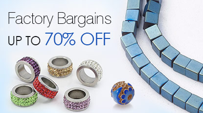 Factory Bargains UP TO 70% OFF