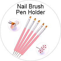 Nail Brush Pen Holder
