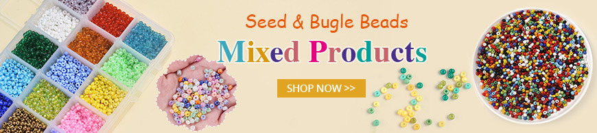 Seed & Bugle Beads Mixed Products