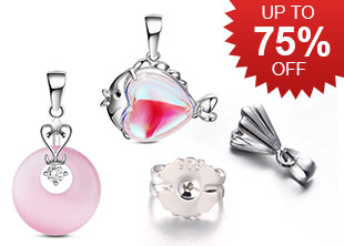 Sterling Silver Up To 75% OFF