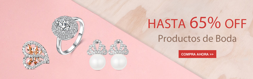 Hasta 65% OFF Productos de Boda