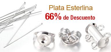 Plata Esterlina 66% de Descuento