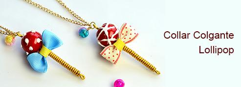 Collar Colgante Lollipop