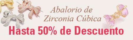 Abalorio de Zirconia Cúbica Hasta 50% de Descuento