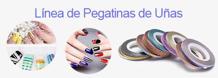 línea de pegatinas de uñas