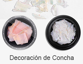 decoración de concha