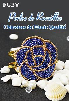 FGB® Perles de Rocailles Chinoises de Haute Qualité