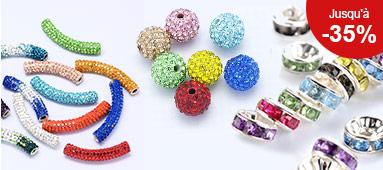 Perles Avec Strass
