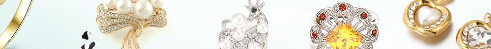 Bijoux Avec Perles & Strass