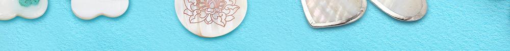 Coquillage D'eau Douce Série Pendentifs