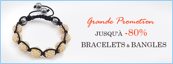 Grande Promotion Jusqu'à -80% Bracelets & Bangles