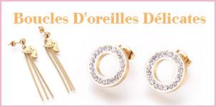 Boucles D'oreilles Délicates