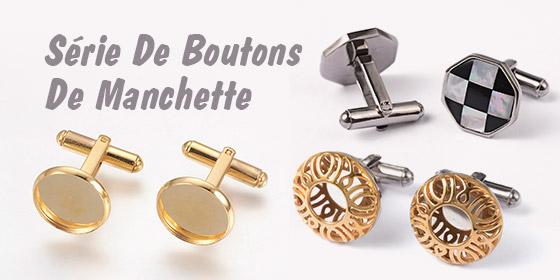 Série De Boutons De Manchette