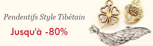 Pendentifs Style Tibétain