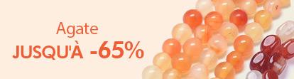 Agate Jusqu'à -65%
