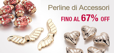 Perline di Accessori FINO Al 67% OFF