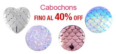 Cabochons FINO Al 40% OFF