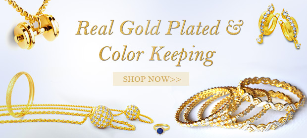 Color Keeping & Gold Plated