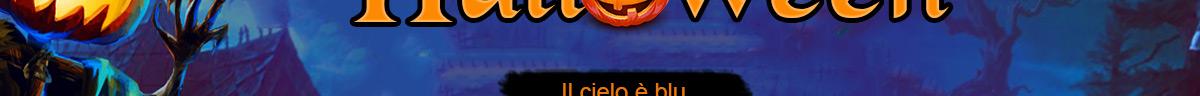 Argomento Speciale di Halloween