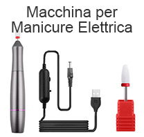 macchina per manicure elettrica